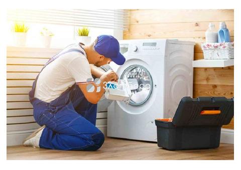 Подключение и ремонт стиральной машины в Москве