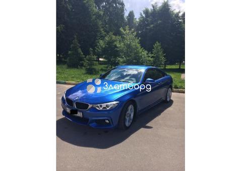 BMW/4 серия/2016 Купе F32/F33/F36 /420i 2.0 AT (184 л.с.), Москва
