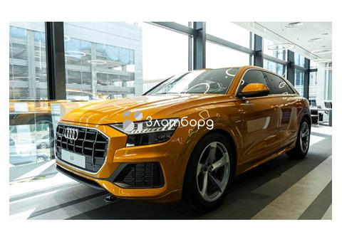 Audi Q8, внедорожник, 2021 г.в.
