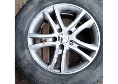 Коплект диски и шины в сборе VW Tiguan I