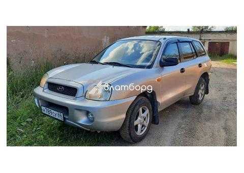 Hyundai Santa Fe, кроссовер, 2003 г.в., пробег: 330000 км., механика, 1.997 л