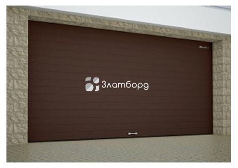 Секционные ворота для гаража DoorHan